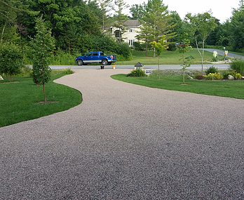 Red Granite Tac Driveway